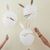 MAKE YOUR OWN EASTER BUNNY BALLOONS PARTY BIRTHDAY WHISCKERS