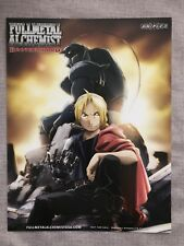 Fullmetal Alchemist Brotherhood Promo Picture Aniplex A4 Doudle-sided