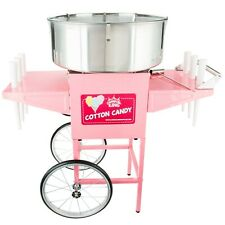 """Carnival King Cotton Candy Machine with 21"""" S/S Bowl & Cart 110 V, 1050 W"""