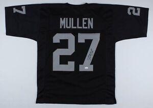Treyvon Mullen Signed Las Vegas Raiders Jersey (JSA COA)