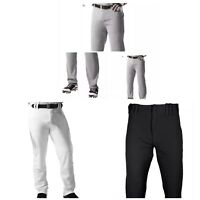 Baseball Under Armour Pant Pro Style Open Bottom Gray White Black Size S M L 3XL