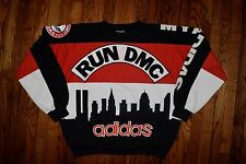 1986 RUN DMC MY ADIDAS sweat shirt vtg 90s rap hip hop sweater beastie boys XL