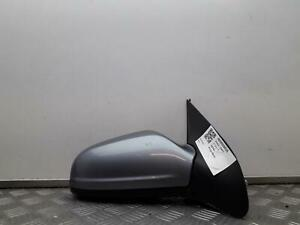 VAUXHALL ASTRA Hatchback 2005 Silver OS Drivers Right Wing Mirror 13141994