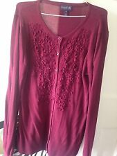 Thin Knit Floral Cardigans Size Tall for Women
