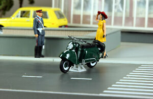 Exclusive! Tula T-200 scooter green handmade 1:43