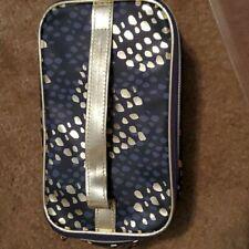MONAT Train Case Cosmetic Makeup Bag  new