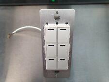 Control4 Control 4 KPZ-6B1 Wireless 6 Button Keypad