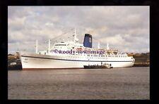SIM0338 - Direct Cruises Liner - Apollon , built 1961 ex Emp of Canada- postcard