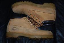 "Men's Timberland 10348 Waterproof Tan 6"" Boots (11)"