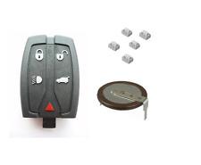 Free Lander 2 5- button  remote key fob Repair refurbishment kit Genuine battery