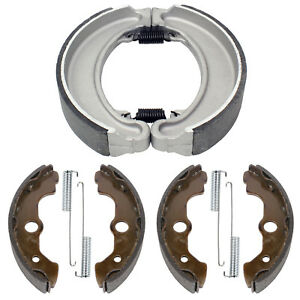Front Rear Brake Shoes for Honda TRX300FW Fourtrax 300 4X4 1988-2000 (Only 4X4)