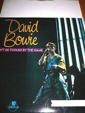 original Vinyl Schallplatte 10 '' LP David Bowie don't be fooled by the name P66