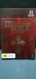 THE  MYSTERIES OF THE BIBLE COLLECTION -  7 DISC SET - (REGION 4 AUS)  $45
