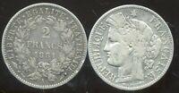 2 FRANCS  CERES  1881 A      ARGENT