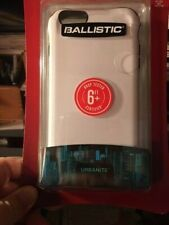 NEW Ballistic Urbanite Phone Case for Apple iPhone 6 Plus 6S Plus White & Grey