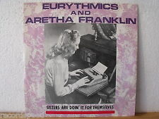 "★★ 12"" Maxi - EURYTHMICS & ARETHA FRANKLIN - Sisters Are Doin´ It For Themselves"