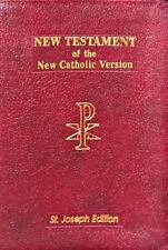 New American New Testament Bible: By Catholic Book Publishing Co