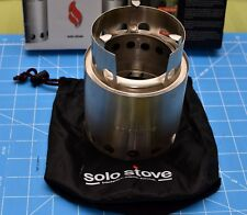 LITE by Solo Stove Twig Burning Convection Gasifier Smaller Camping Cook Stove ☦