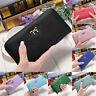High Quality Women Lady Leather Clutch Wallet Long PU Card Holder Purse Handbag