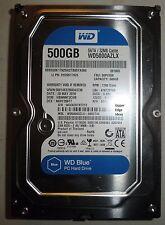 Western Digital 500GB Hard Drive HDD 3.5 WD5000AZLX-08K2TA0
