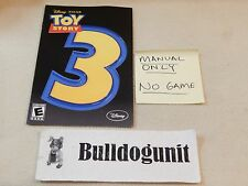 Toy Story 3 Playstation 2 Ps2 Manual Only No Game