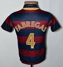 ARSENAL 2007/2008 THIRD FOOTBALL SHIRT JERSEY NIKE SIZE M KIDS #4 FABREGAS