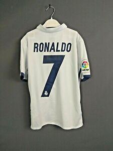Ronaldo Real Madrid Jersey 2016 2017 Boys Kids 11-12 y Shirt Adidas AI5189 ig93