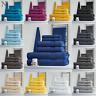 LUXURY 100% COTTON 6 PC TOWEL BALE SET BATHROOM TOWELS FACE HAND BATH TOWELS