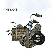 THE RIOTS - TIME FOR THE TRUTH+THE SINGLES  CD NEU