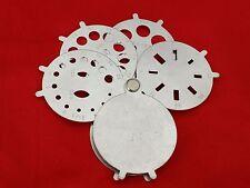 Pocket Folding Diamond Fan Gauge Weight Estimator Measure Round Oval Baguette