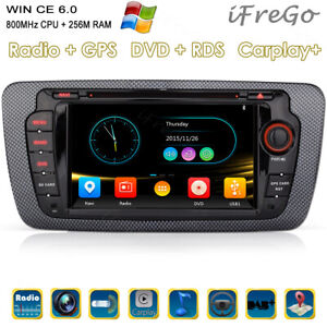 "Für VW Seat Ibiza 7"" Autoradio NAVI GPS DVD MP3 USB CD BLUETOOTH AUTO Autoplay"