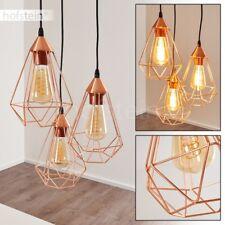 Lampe à suspension Plafonnier Retro Lustre Lampe pendante Lampe de couloir Acier