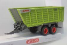 Wiking CLAAS Cargos Ladewagen, gelbgrün - 0381 99 - 1/87