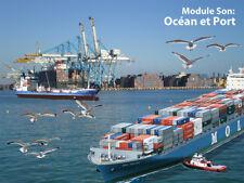 Module Son d'ambiance 'Océan et Port'