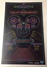 Day Of The DEADMAU5 2019 Red Rocks - Colorado Promo 11x17 Poster  🐭