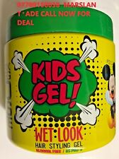 FIXEGOISTE KIDS GEL WET LOOK HAIR STYLING GUMMY GEL ALCOHOL FREE DELIVERY 500ML
