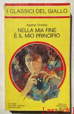 I CLASSISICI DEL GIALLO MONDADORI 410 Agatha Christie NELLA MIA FINE E' IL MIO