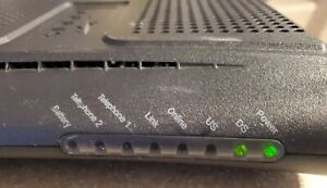ARRIS TM602G/115 Touchstone Telephony DOCSIS 3.0 CABLE MODEM TM02AC1G6 with cord