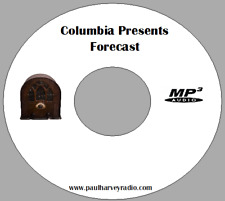 FORECAST (23 SHOWS) OLD TIME RADIO MP3 CD
