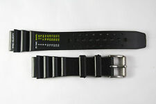 22mm Divers Watch Band Plastic Fits CITIZEN  wind velocity  Watches STRAP
