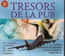 COFFRET 4 CD 51 TITRES-TRESORS DE LA PUB - PLUS GRANDS AIRS CLASSIQUES EN 20 ANS