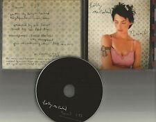 HOLLY McNARLAND Numb 1997 USA PROMO Radio DJ CD Single MATTHEW GOOD BAND MINT