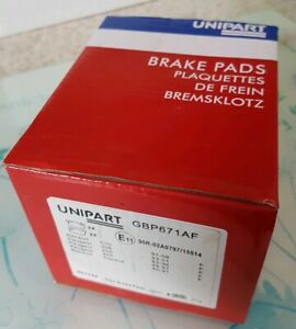 Unipart Front Brake Pads For Renault Clio Espace, Peugeot 306 205 405 New Sealed