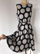 Marimekko Geometric Circle Dress Size 42 US 12