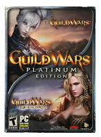 Guild Wars Platinum Edition & Eye of the North Expansion PC DVD-Rom Video Game W