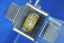 Vintage NOS Hudson Instalite Jump Hour Digital Watch 1970s SERVICED 17 Jeweled