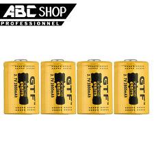 4 PILES BATTERIE RECHARGEABLE CR123A 3.7V 123A CR123 16340 2800mAh Li-ion ACCU