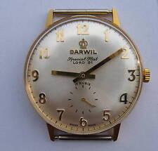 DARWIL Lord 81 mechanical hand winding Swiss watch movement Peseux 7040, NEW