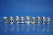 Resin Kit 337 1/35 Female Head Set (9pcs)