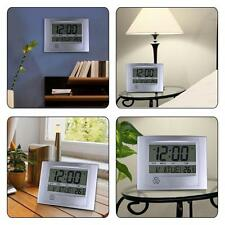 La Crosse Technology Wt-8002U Digital Wall Clock Temperature Calendar Alarm Time